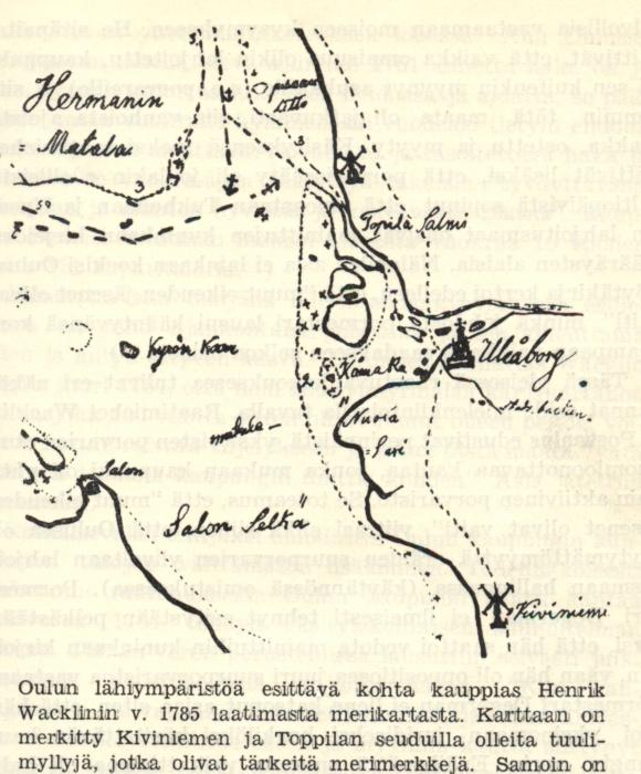 Oulujoen Suun Lyhyt Historia